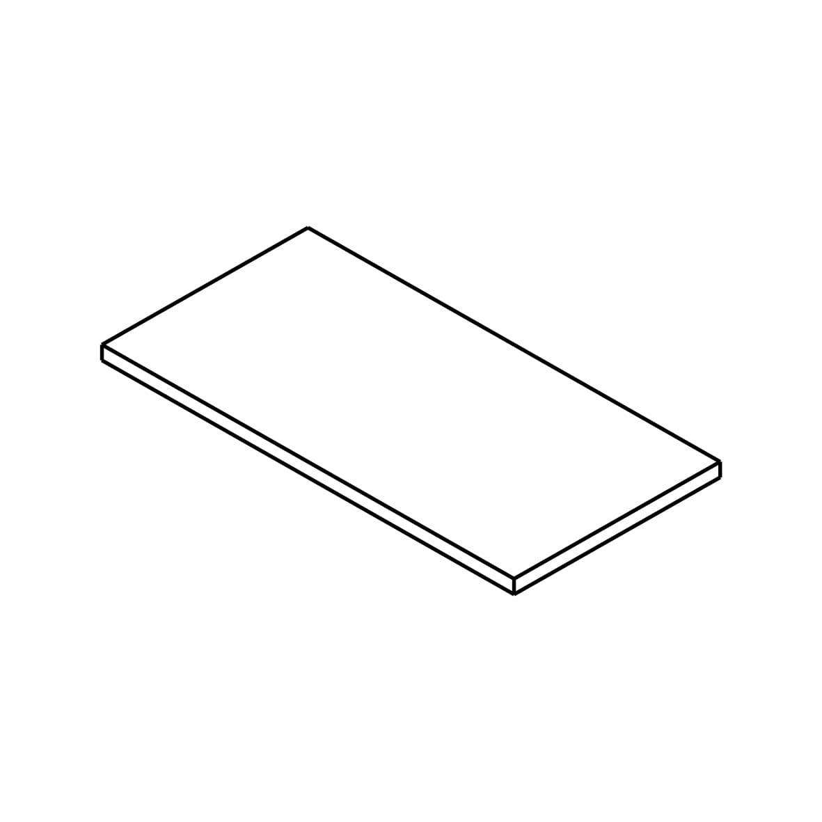 Stufenplatte