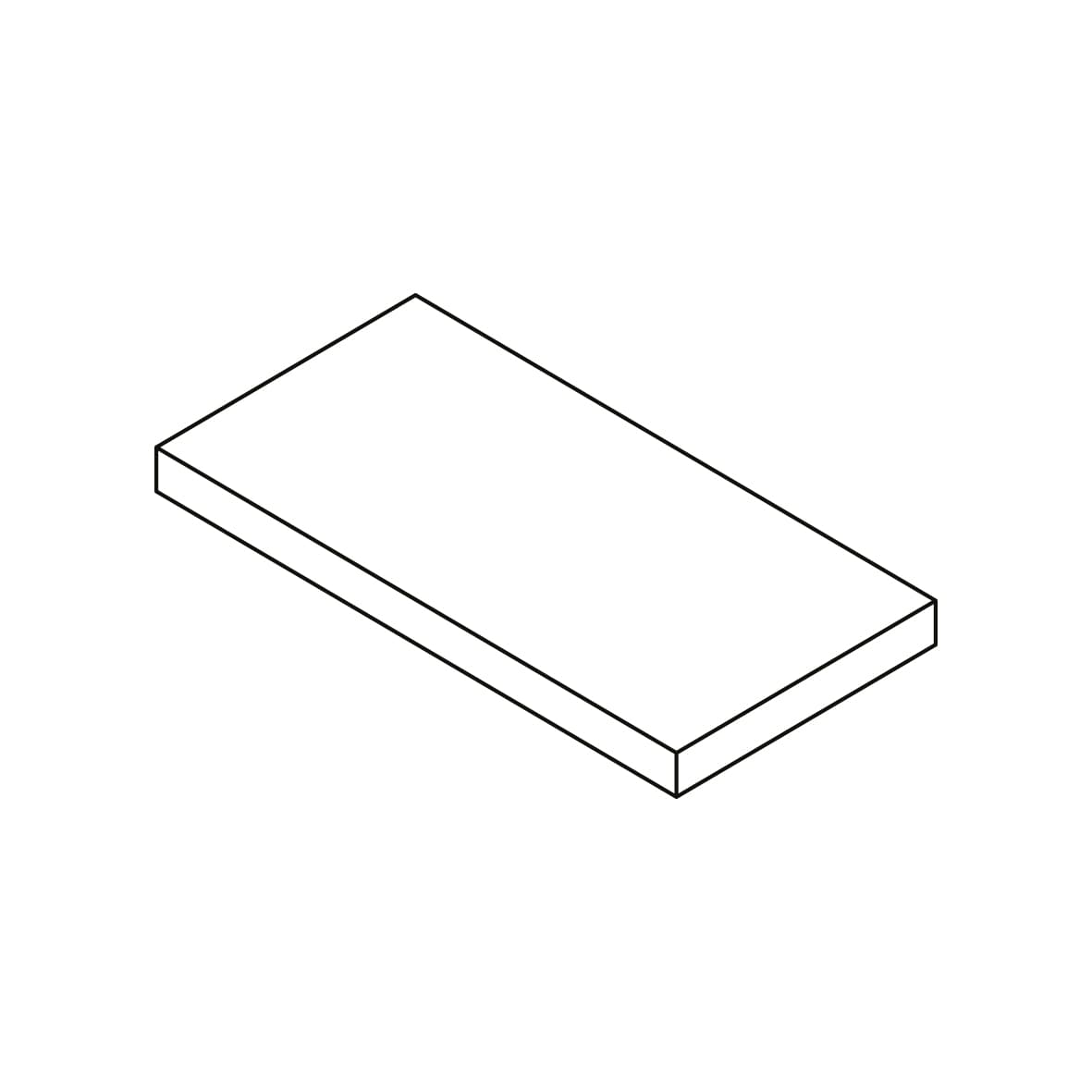 Step extra thick 20MM right corner | Step extra thick 20MM left corner