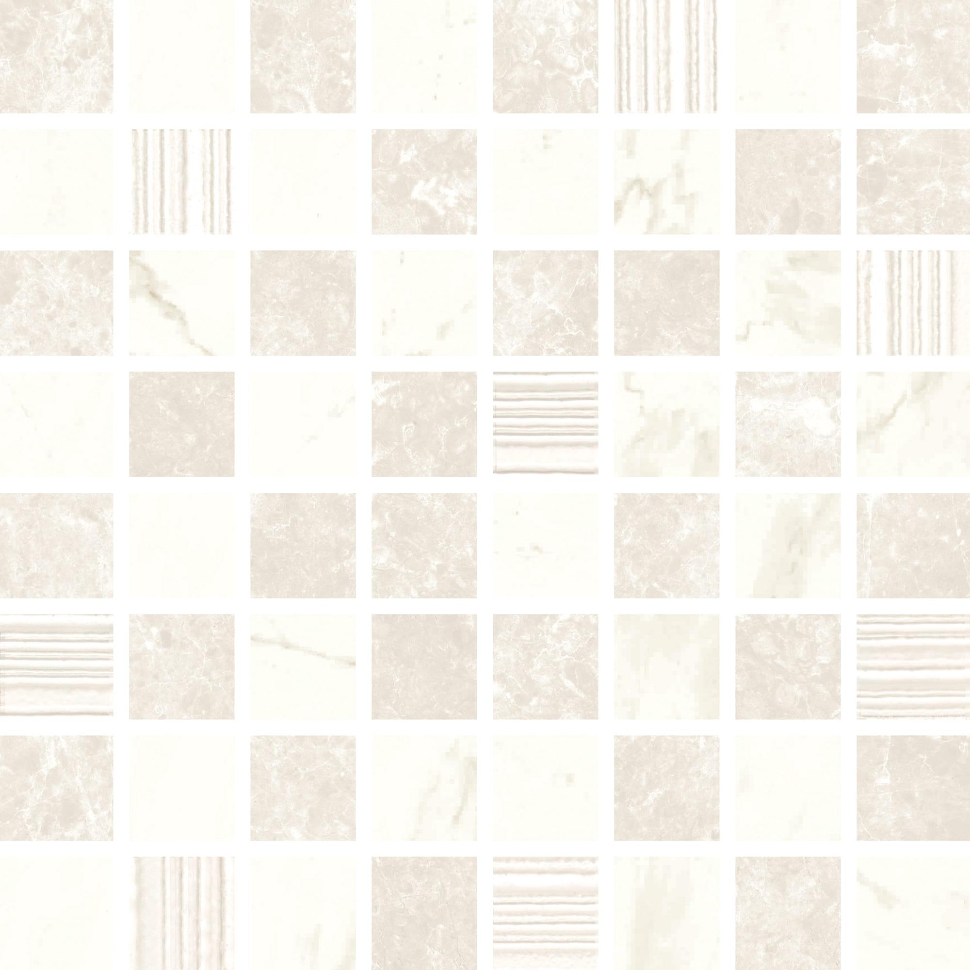 Mosaic Gleam White