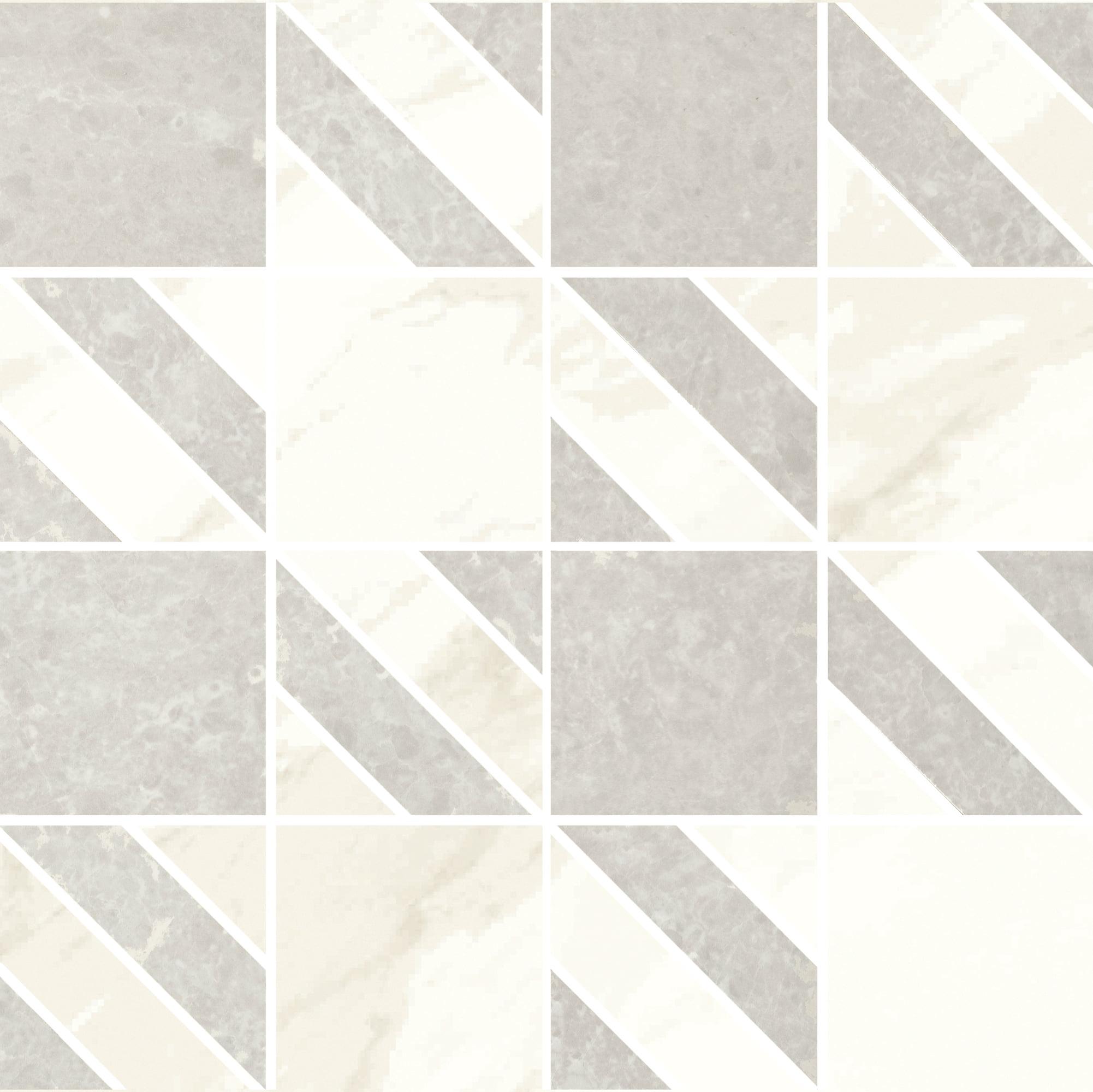 Mosaico Sparkle White