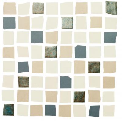 Mosaic Responsive Blue