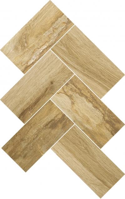 Mosaic Wooden Beige