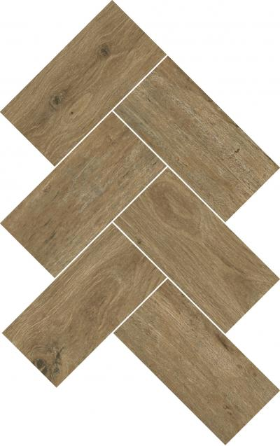 Mosaic Wooden Brown