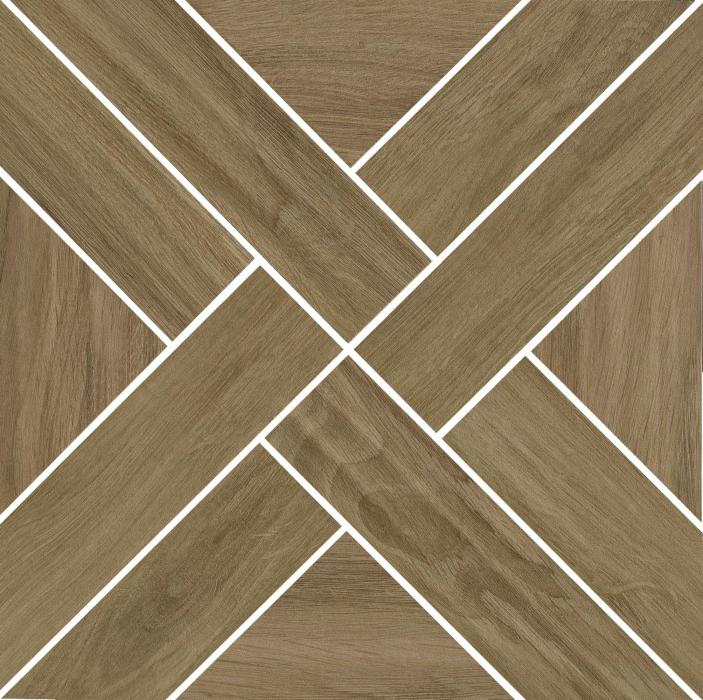Mosaic Cross Brown