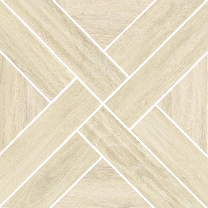 Mosaic Cross White