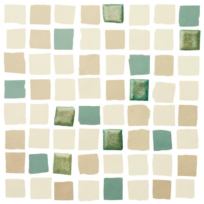 Mosaic Responsive Green
