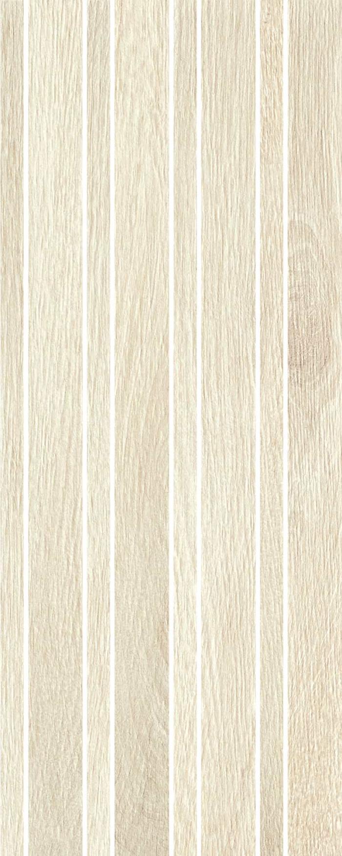 Mosaic Timber Raw White AS