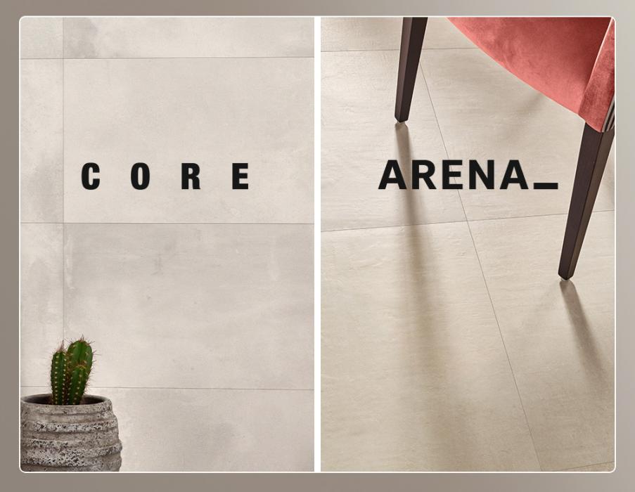 Nuevas colecciones de Love Tiles: Arena y Core
