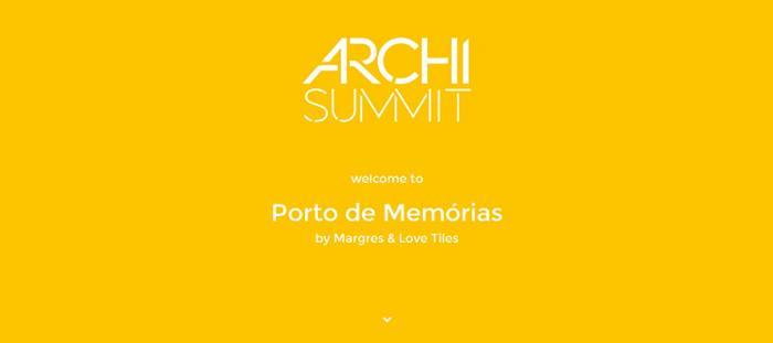 Porto de Memórias: Margres y Love Tiles hacen acto de presencia en el Archi Summit 2016